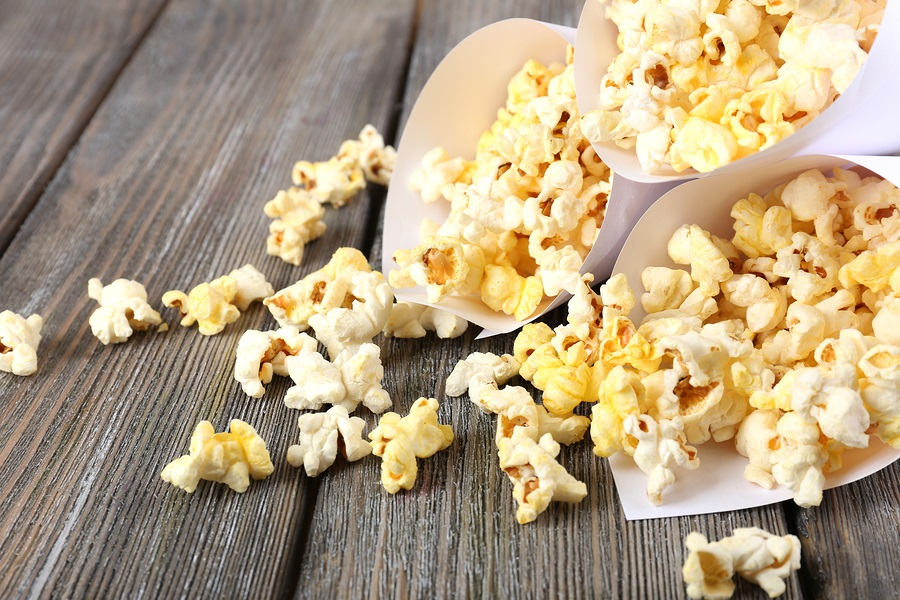 Toss the unhealthy microwaved popcorn! These 5 tips will help you make movie-theatre quality popcorn right at home! It's also naturally vegan and dairy free. Tip 3 will blow your mind!