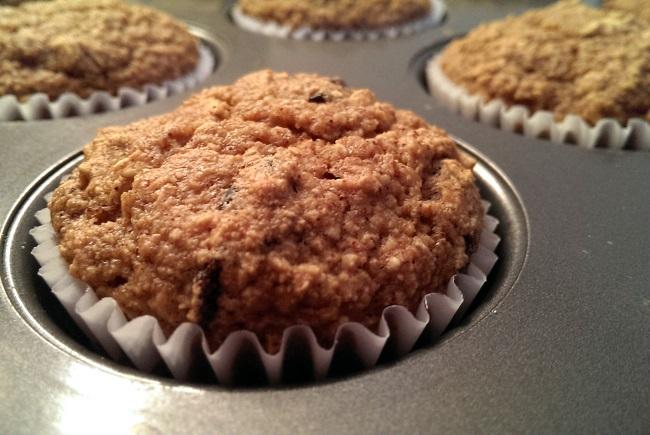 Apple Brown Betty Muffin