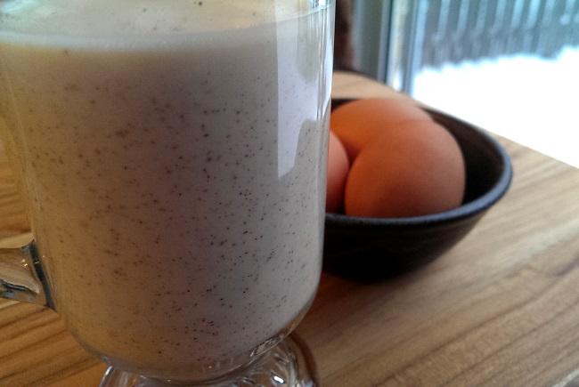 Eggnog from scratch