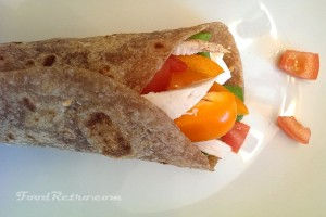 Simple Flour Tortilla Wraps