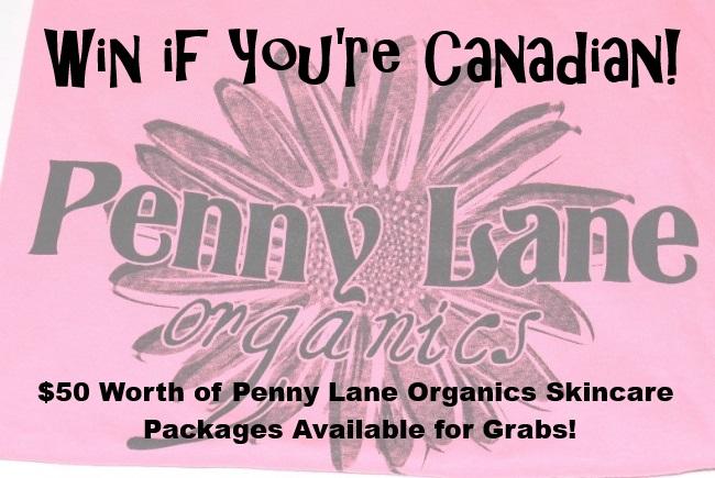 Win if You're Canadian Penny Lane Organics