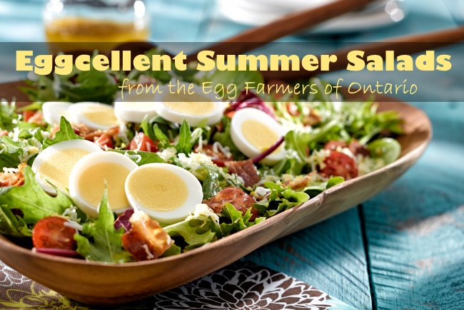 Eggcellent Summer Salads from Egg Farmers Ontario