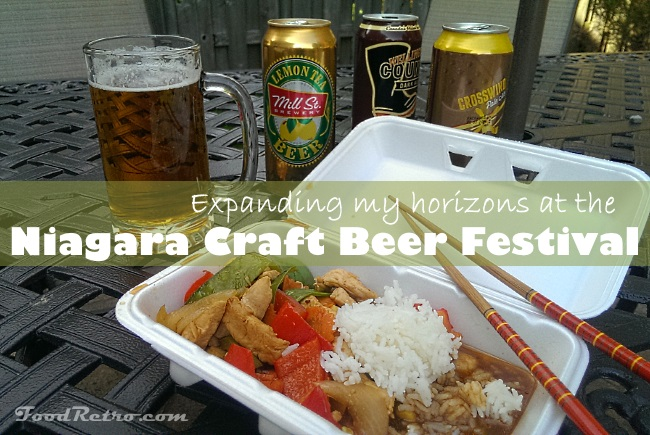Expanding My Horizons - Niagara Craft Beer Festival