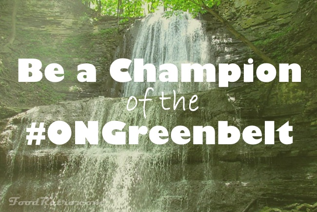 Be a Champion of the ONGreenbelt