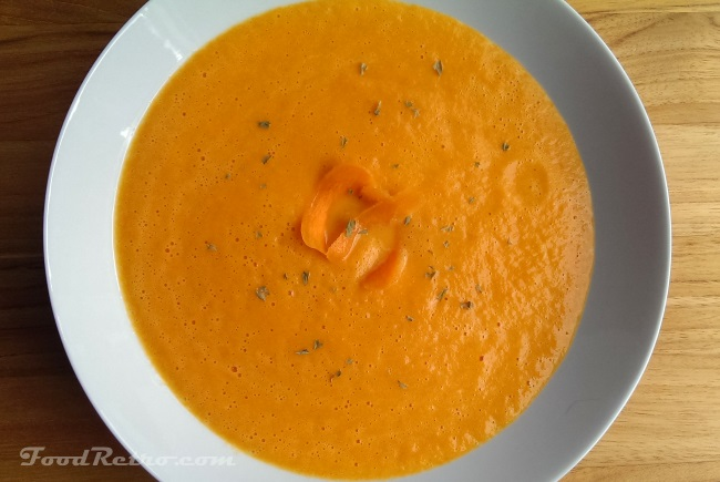 Carrot Ginger Soup - Made with Carnation Evaporated Milk