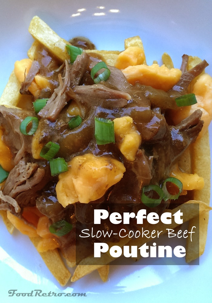 Perfect Crockpot Beef Poutine