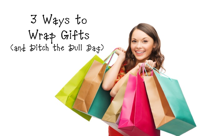 3 Ways to Wrap Gifts and Ditch the Dull Bag