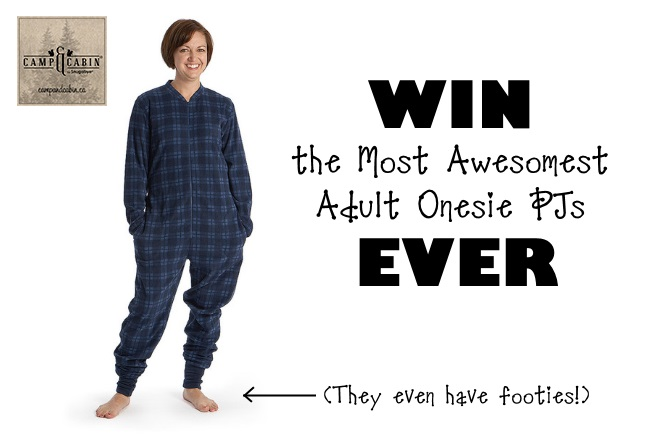 Snugabye adult onesie PJs by Camp and Cozy