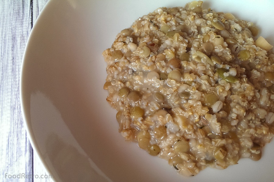 Multigrain Oatmeal Hot Cereal