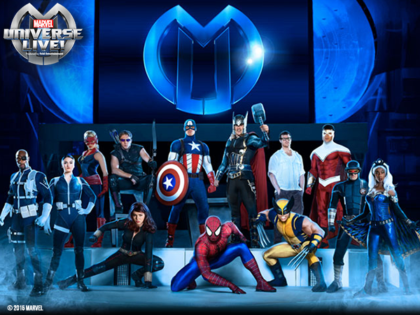 Win Tickets to Marvel Universe Live in Hamilton, Ontario!