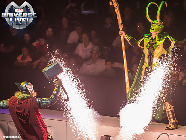 Marvel Universe Live is a blast for the whole family!