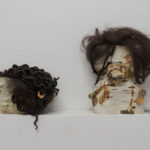 Considerations of the Black Body II, Porcelain, glaze, and luster, 5
