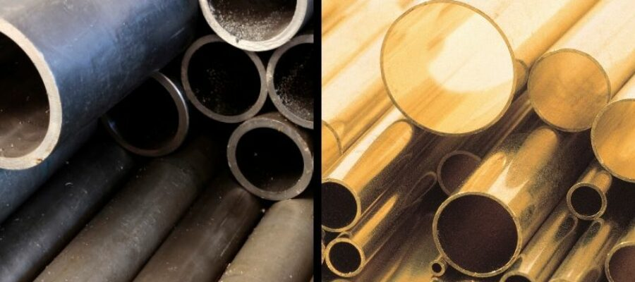 Steel & Copper Pipes