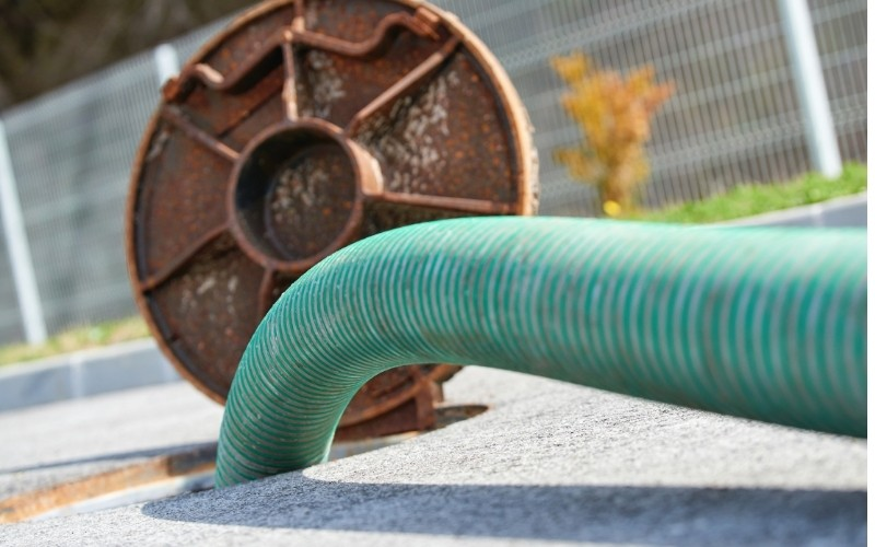 Damaged Sewer Pipes