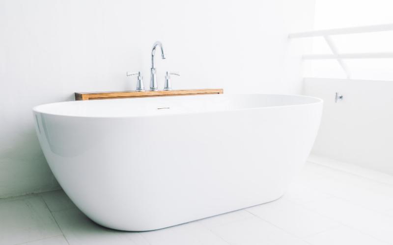 Unclogging the tub