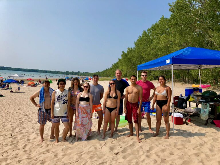 Beach Day - group