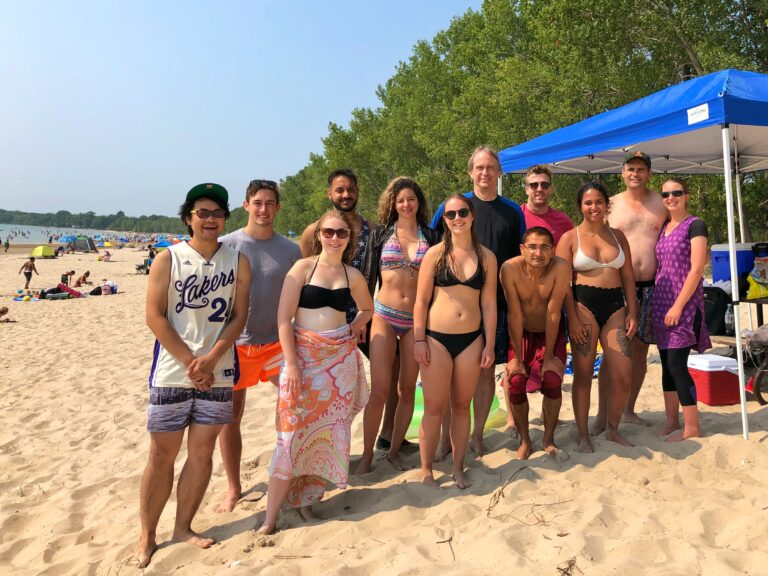 Beach Day - more of group