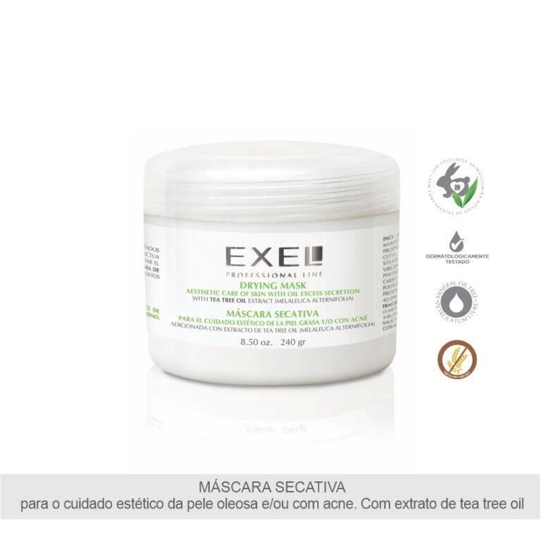 Máscara Secativa Com Extrato De Tea Tree Oil