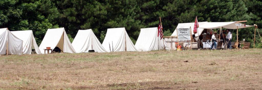 Fort Beauregard Veterans Memorial Park Reenactment