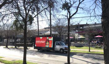 LED mobile billboard truck for sale