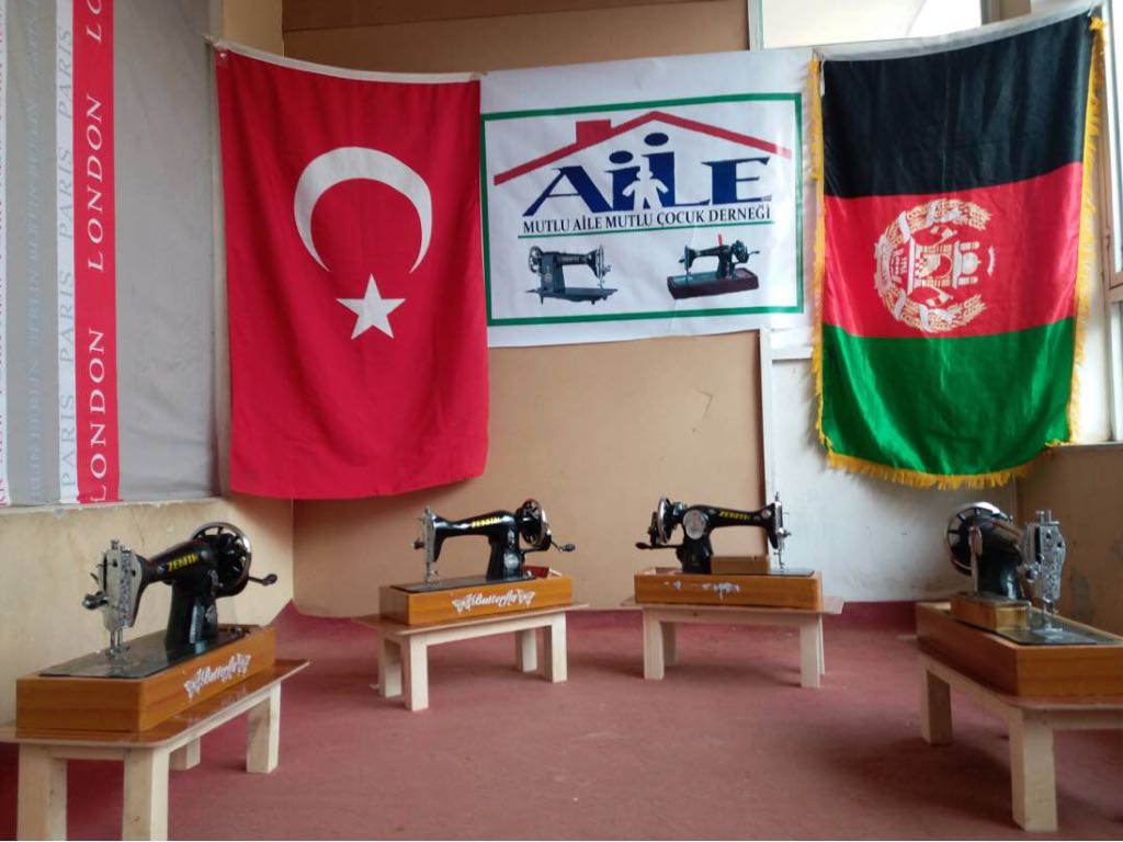 Sewing Machines for Afghan Women