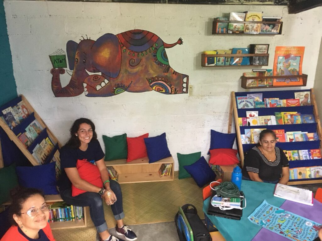 Library in Tegucigalpa, Honduras