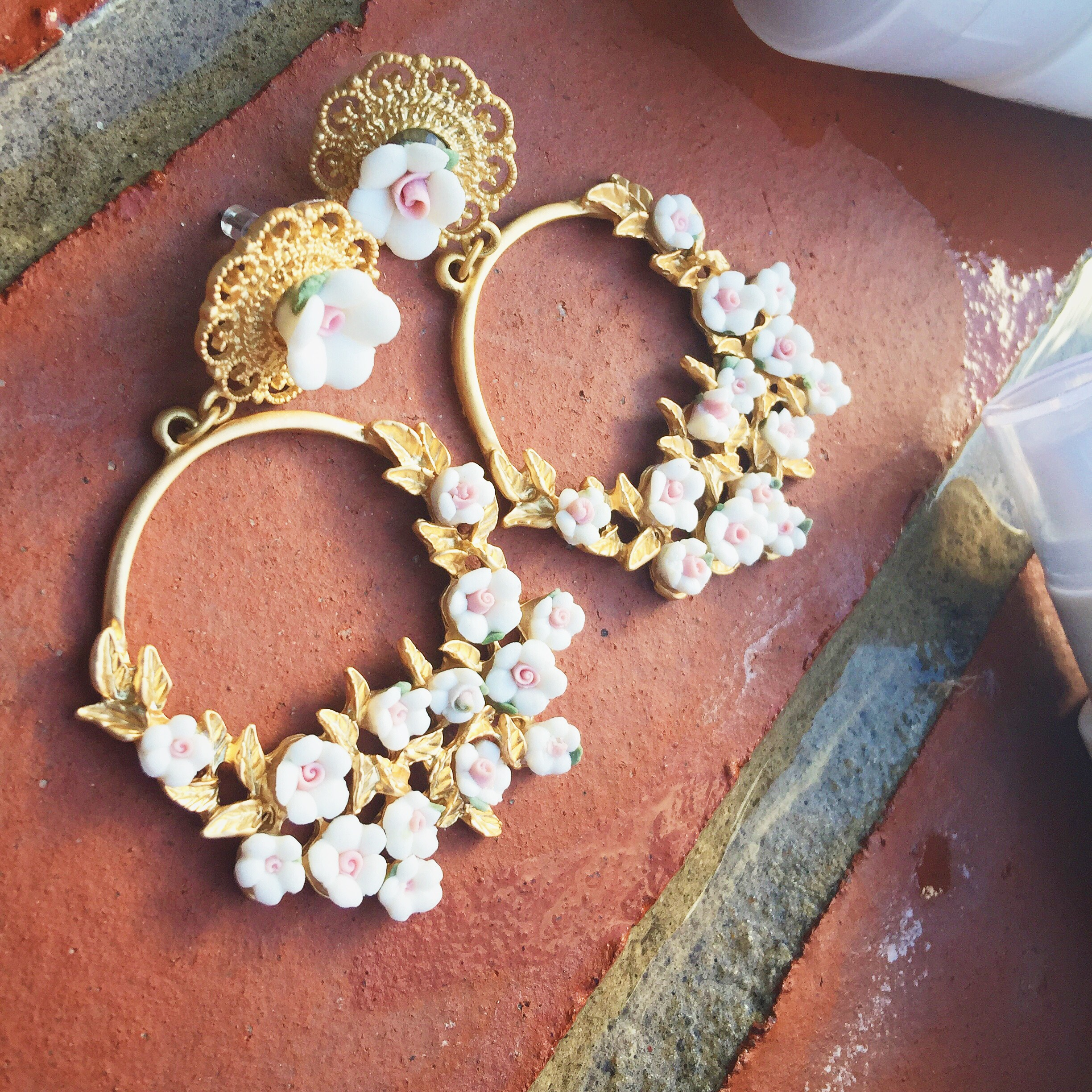 spring summer beauty tips and products aldo flower earrings