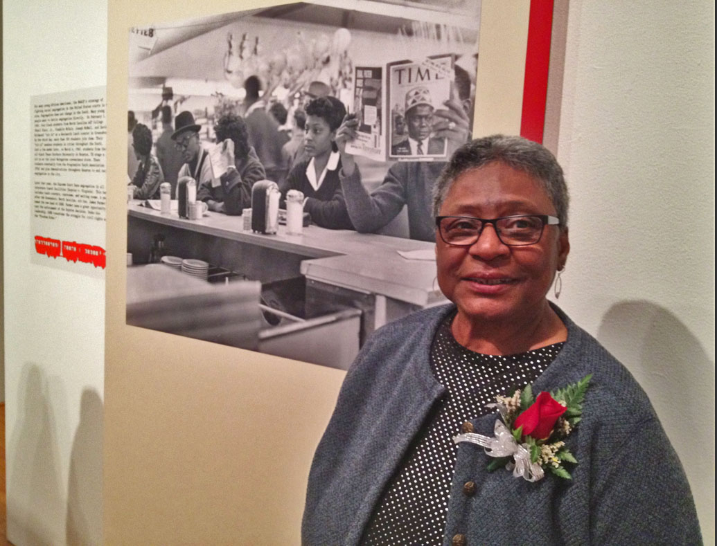 Dr. Halcyon Sadberry Watkins, Houston's first sit in, houston history, black history month houston