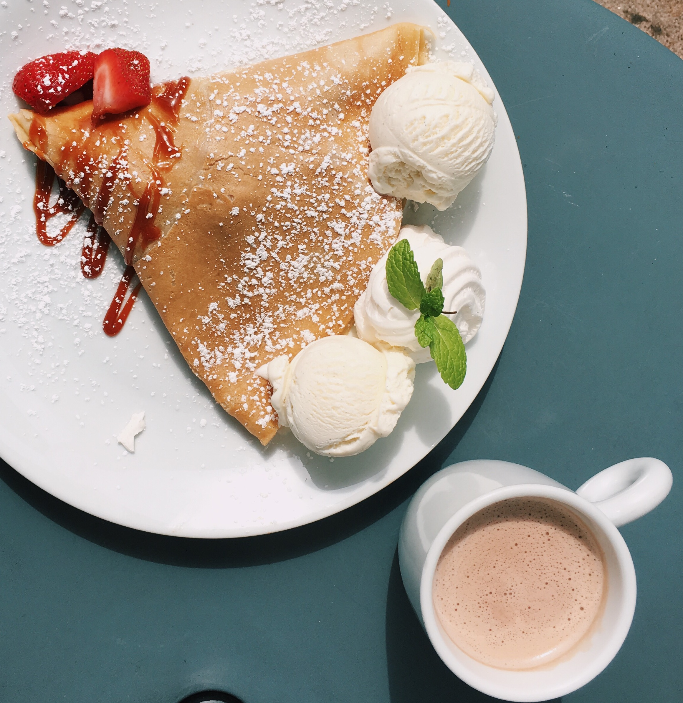 Best Breakfast Crepes in houston sweet paris french restaurant