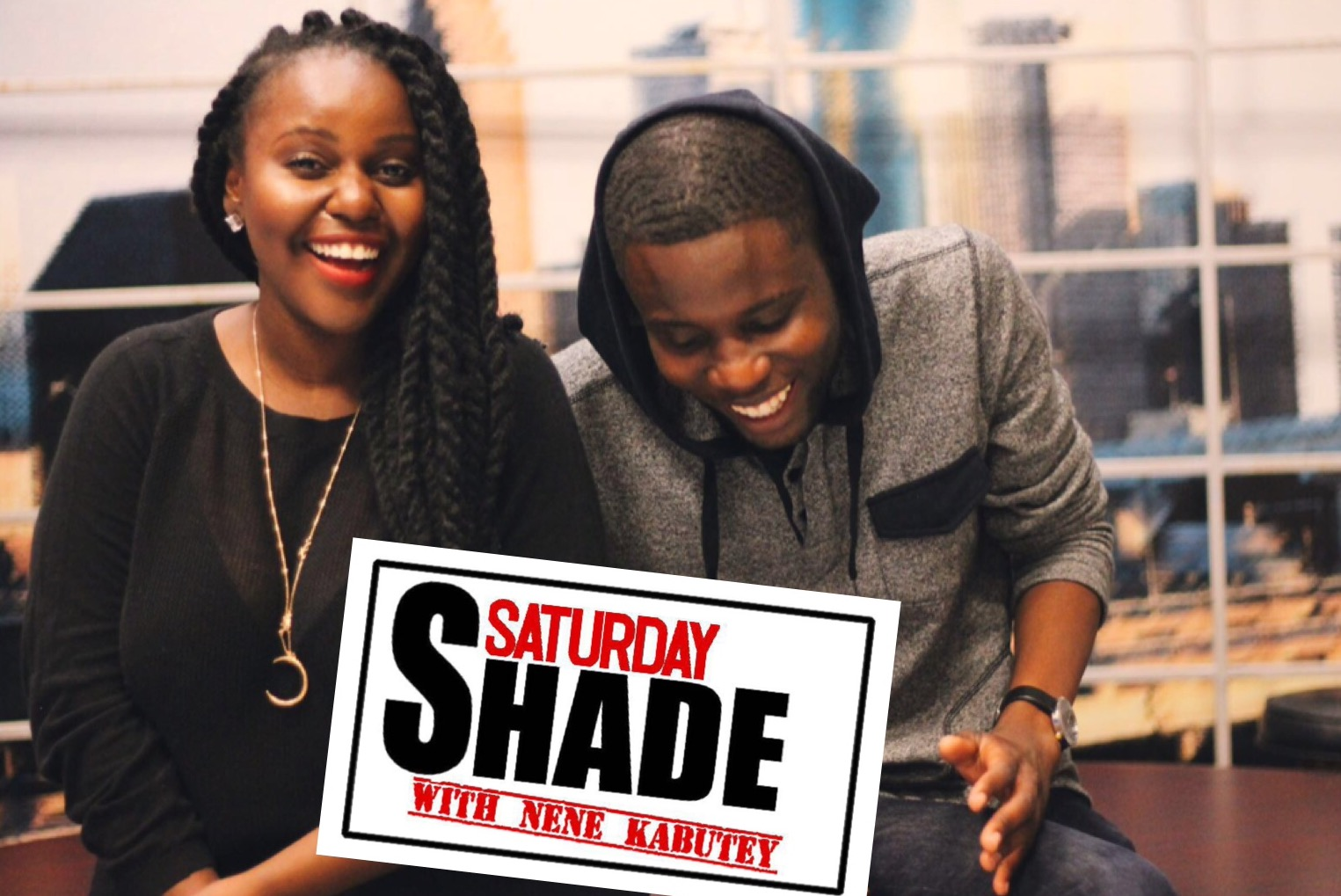 the Saturday shade with nene kabutey is a funny and entertaining podcast