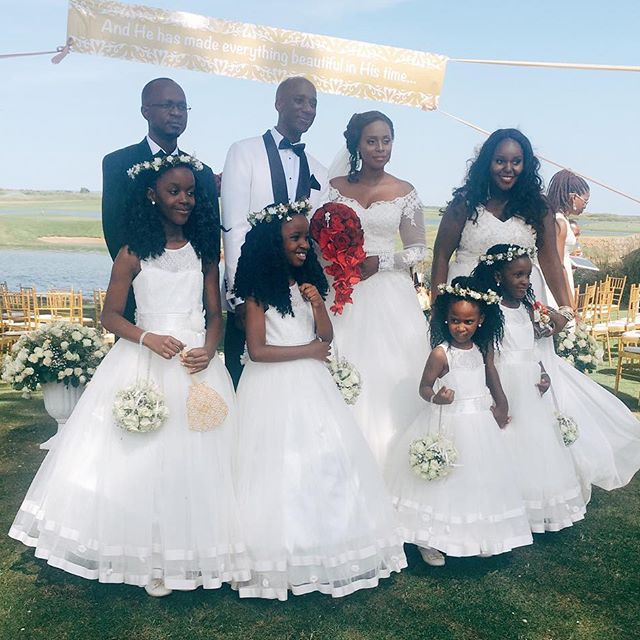(Kampala) Being a Maid-of-Honor for the first time at my sister, Crusid's wedding
