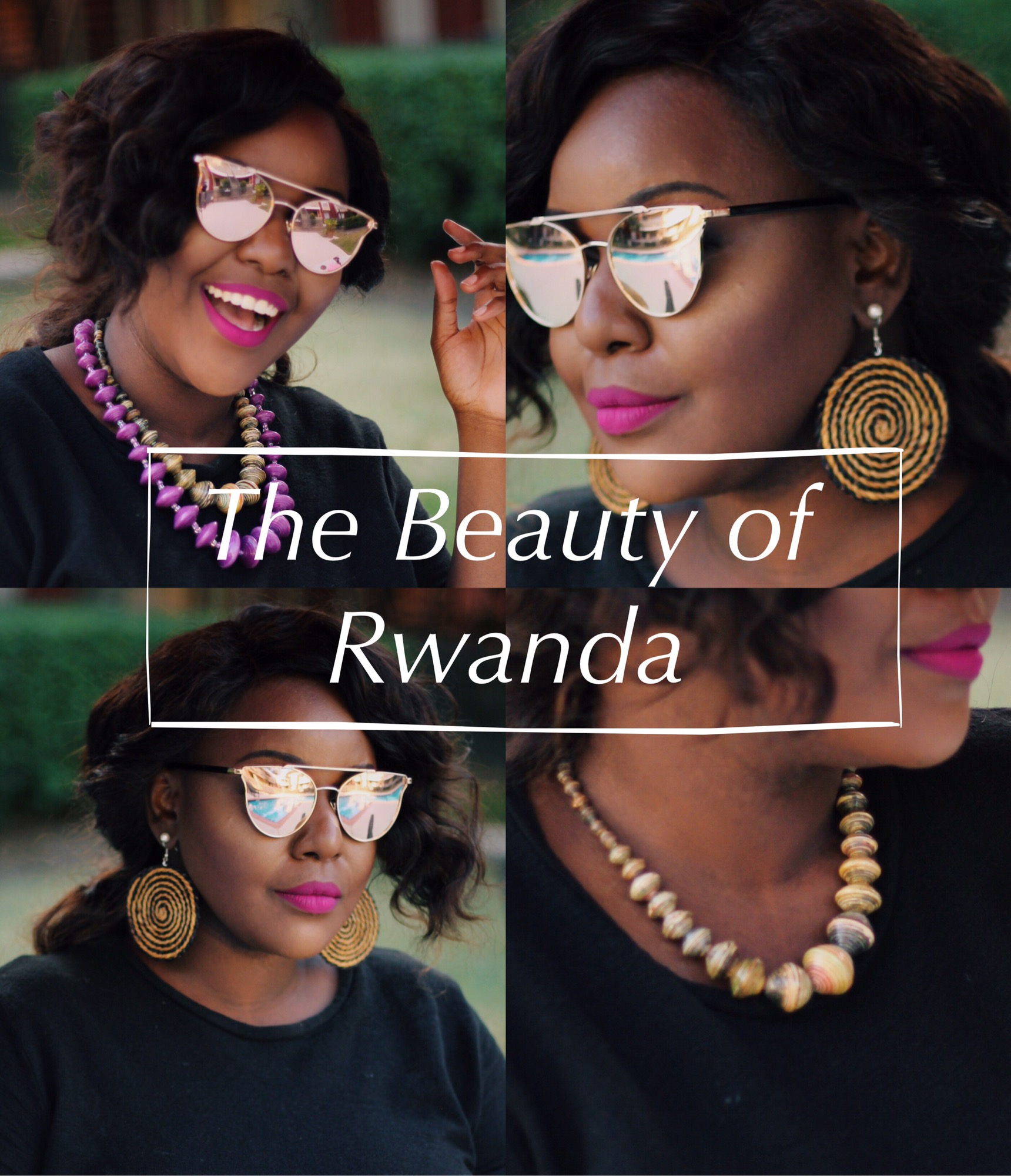 Beauty of Rwanda african craft handmade accessories, uganda