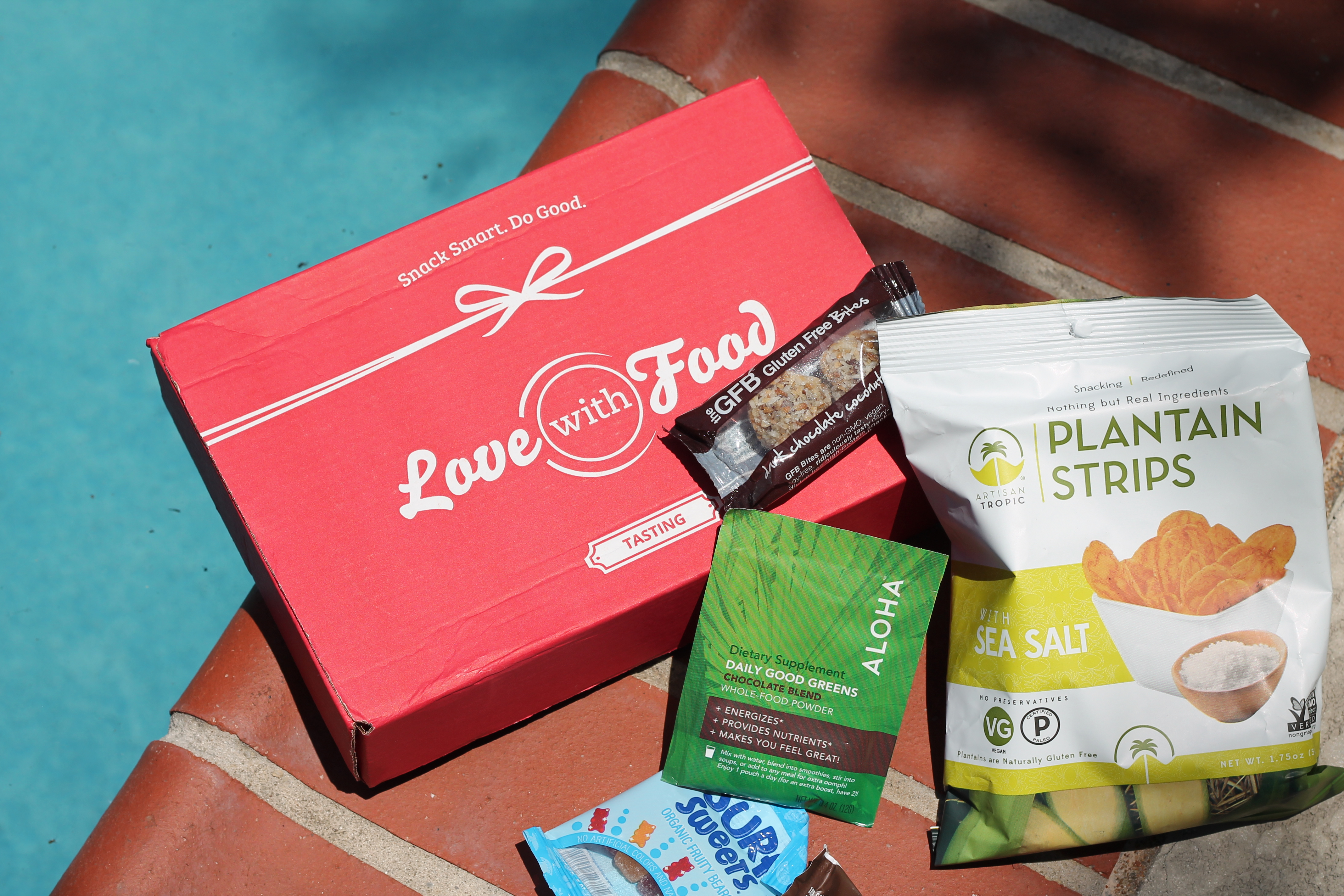 In love with food subscription box review blog