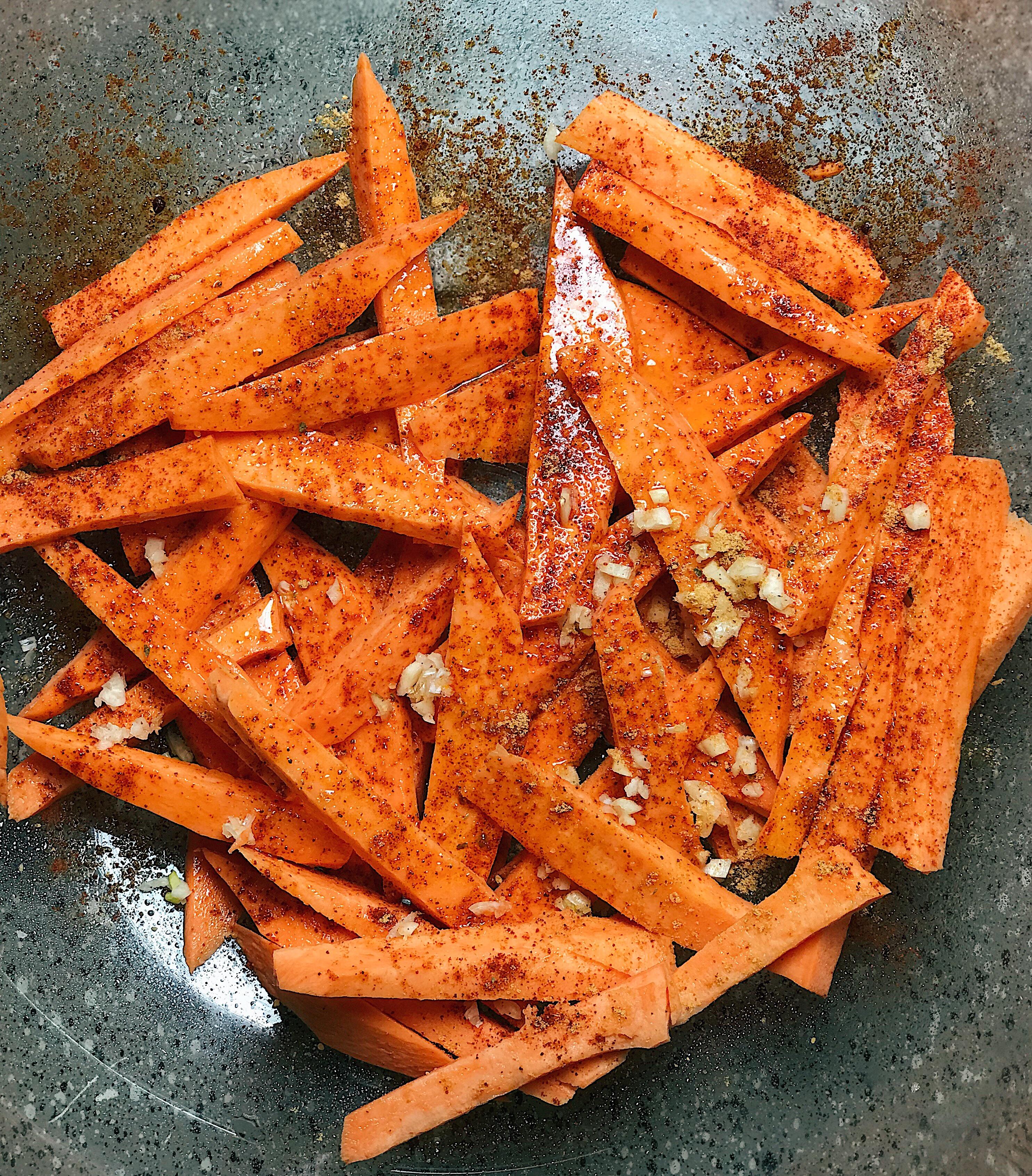 how to make sweet potato fries easy recipe