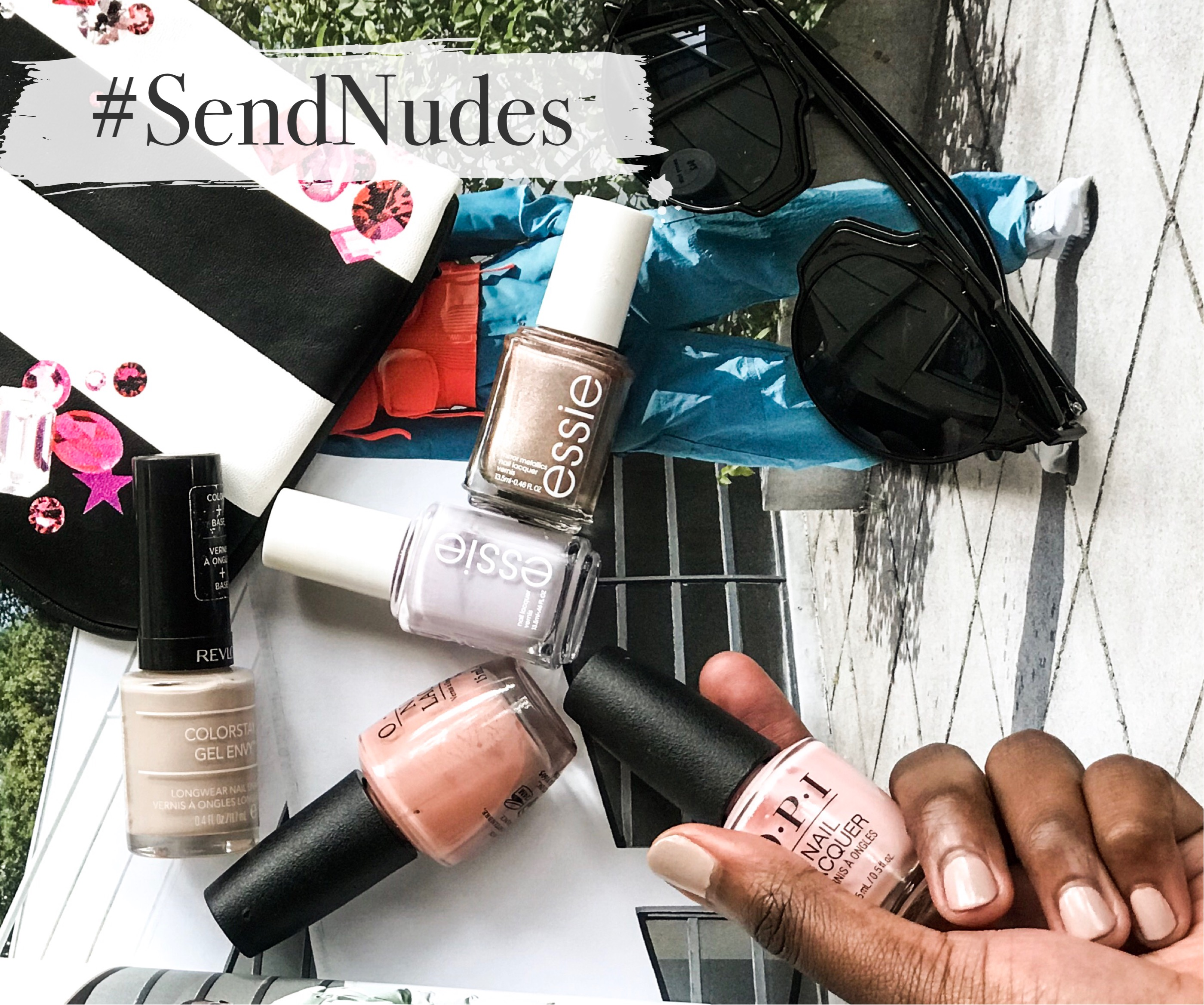 dark skin Nude Nail Polish Shades White, black people, spring trending, what to buy