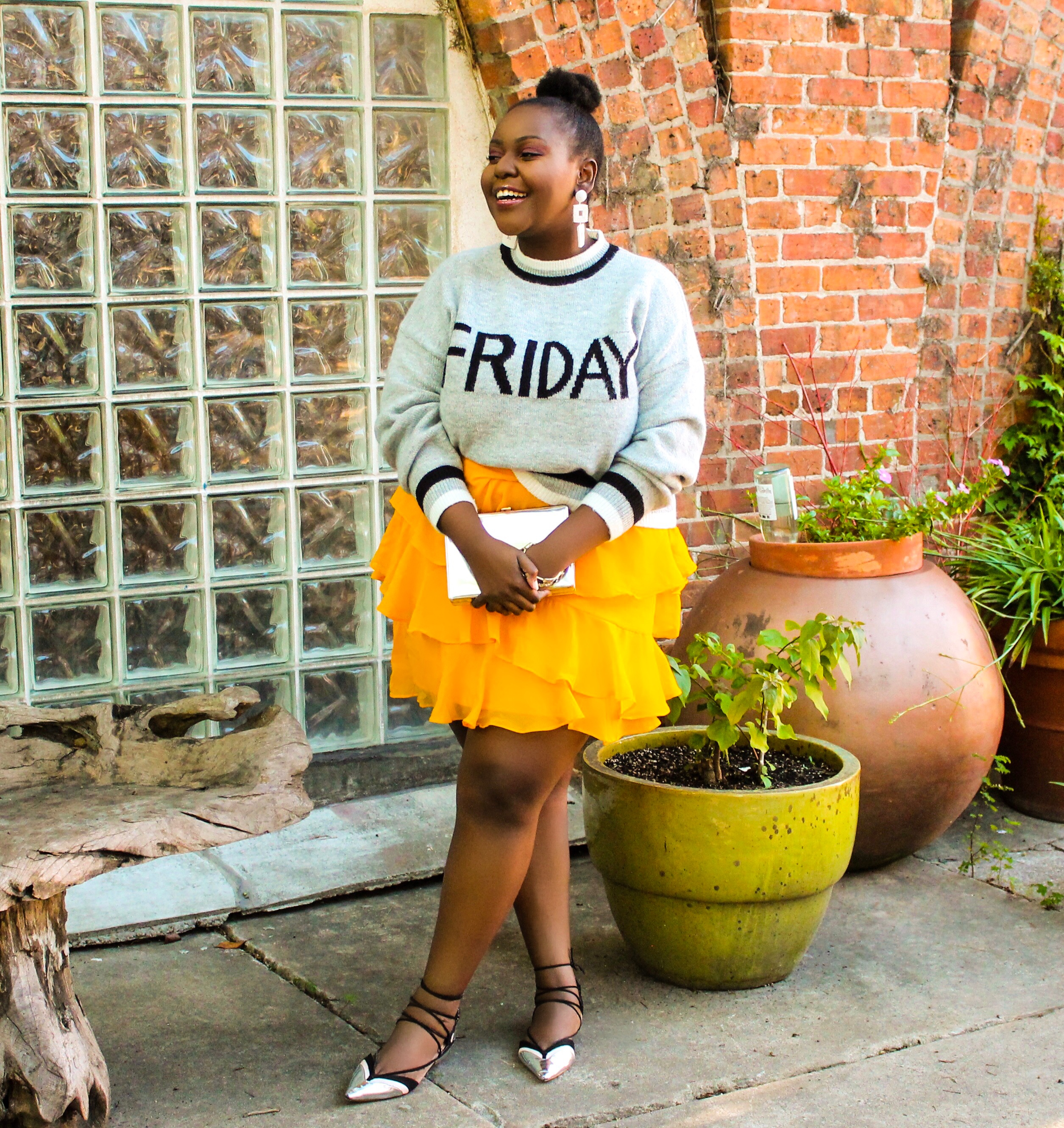 african travel blogger, preppy plus size fashion blogs 2017, beautiful curvy girls, how to fill the eye brow of a dark skin, beautiful plus size dark skin girls, plus size black bloggers, clothes for curvy girls, curvy girl fashion clothing, plus blog, plus size fashion tips, plus size women blog, curvy women fashion, plus blog, curvy girl fashion blog, style plus curves, plus size fashion instagram, curvy girl blog, bbw blog, plus size street fashion, plus size beauty blog, plus size fashion ideas, curvy girl summer outfits, plus size fashion magazine, plus fashion bloggers, zara, Rosie the riveter shirt; Emilia embroidered beaded clutch; Vince Camuto heels; Lula shell drop earrings; Aldo Galigossi sunnies, tenge collection, codexmode, zara, asos