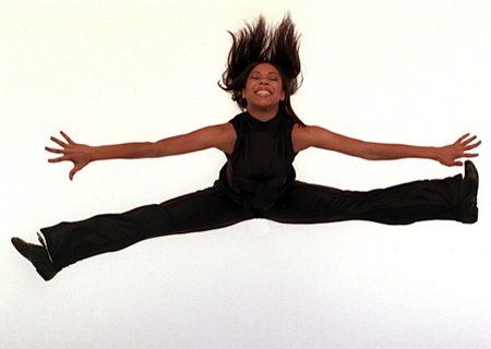 Dana joyous jumping