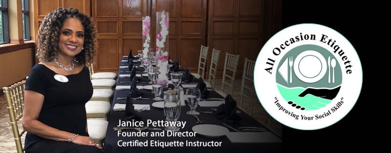 Etiquette Workshops with Certified Janice Pettaway