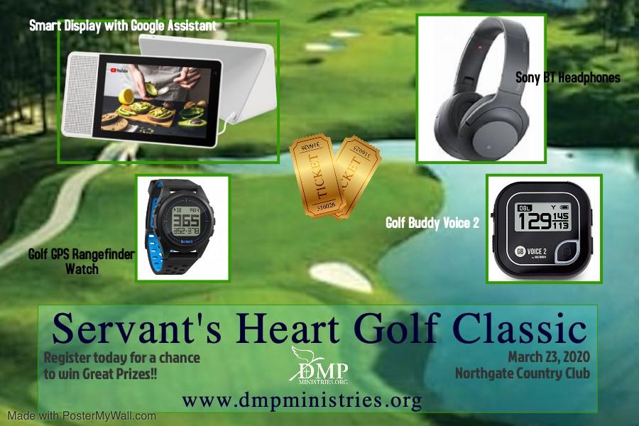 Servant's Heart Golf Classic Prizes