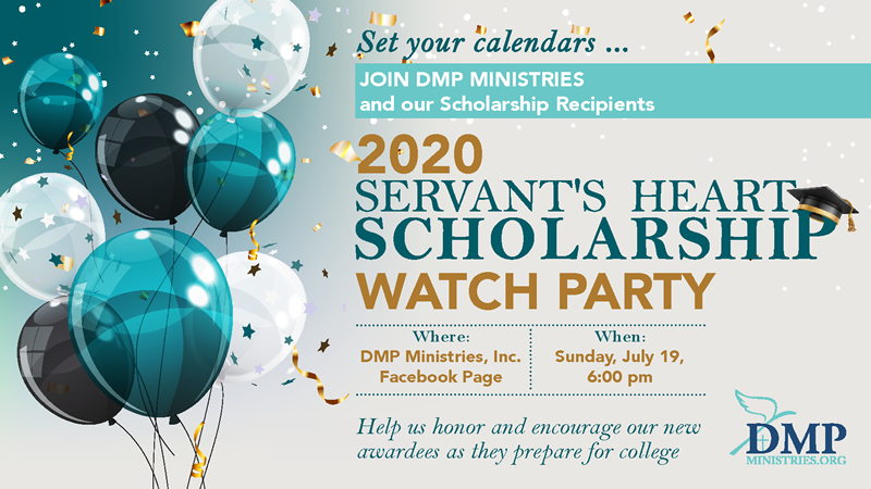 DMP Ministries 2020 Scholarship Watch Party
