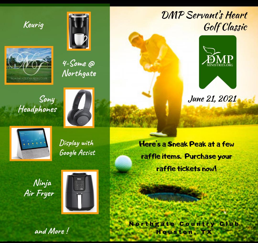 DMP Ministries Golf Classic - Raffle Ticket Purchase