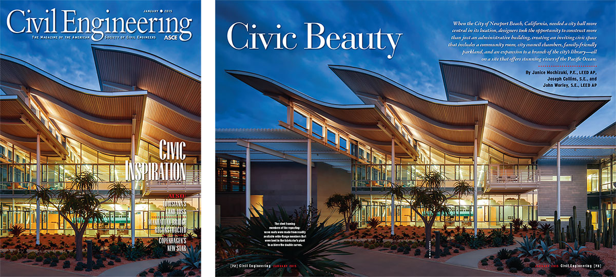 Civil Engineering Magazine, Jan 2015