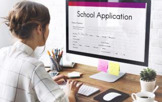 school application online