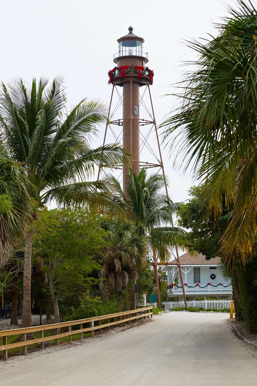 Florida Sanibel island lighthouse in USA