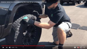 Tire-Shine-Dressing-Exterior-Truck-Detail-in-Meridian-Idaho-by-Limelight-Detailing