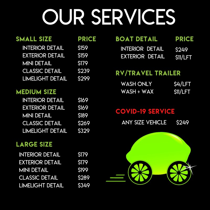 Limelight Pricing July 2021