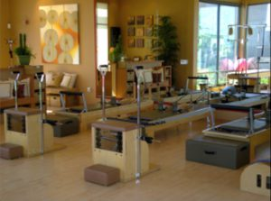 Pilates equipment at Bodies by Pilates