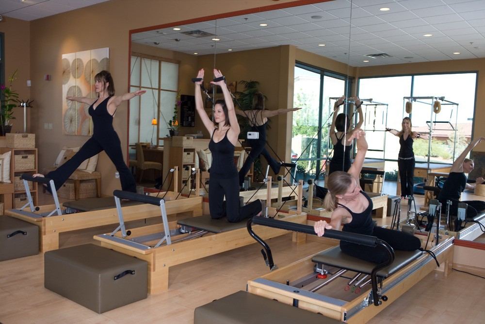 Group Photo - Pilates Reformers