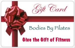 Buy a gift card at Bodies by Pilates