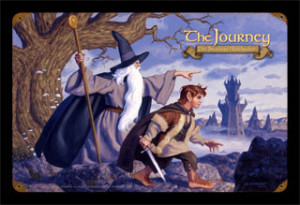 The Journey - Gandalf & Frodo - Vintage Tin Sign